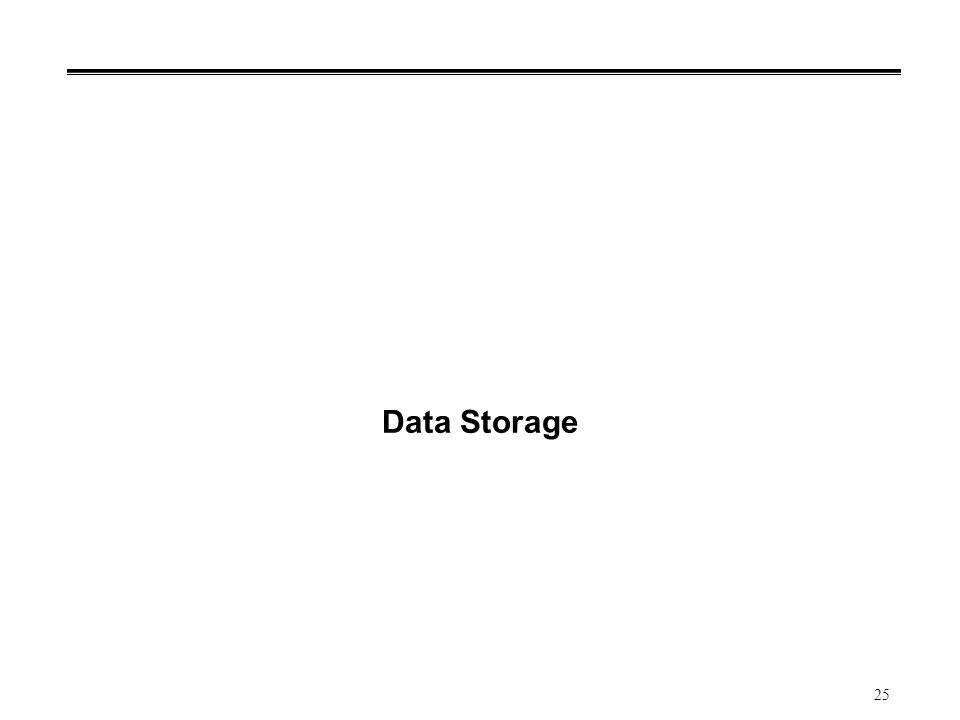 25 Data Storage