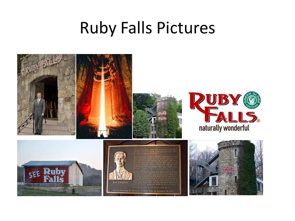 Ruby Falls Pictures