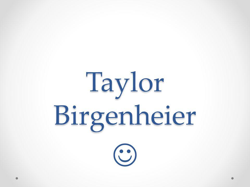 Taylor Birgenheier