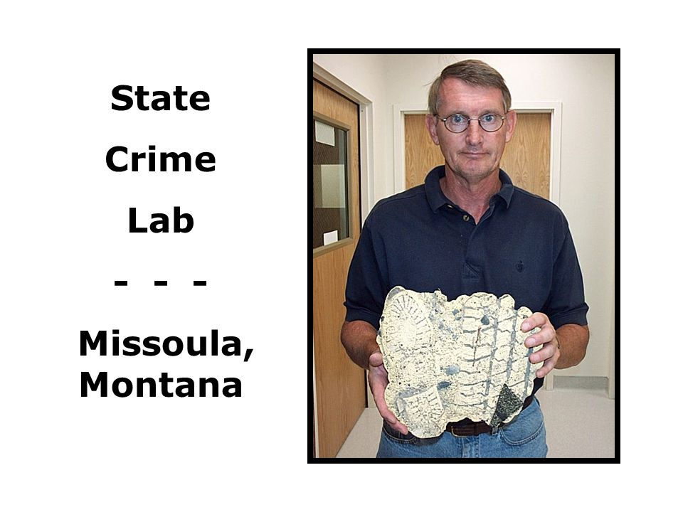 State Crime Lab - - - Missoula, Montana