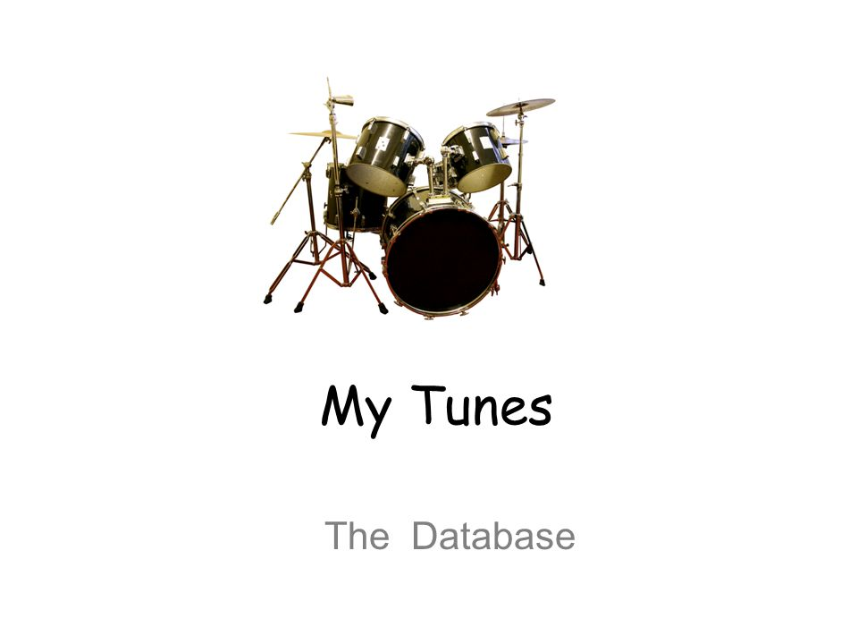 My Tunes The Database