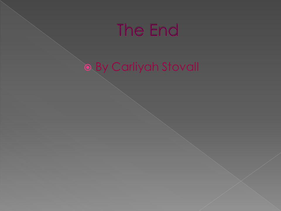  By Carliyah Stovall