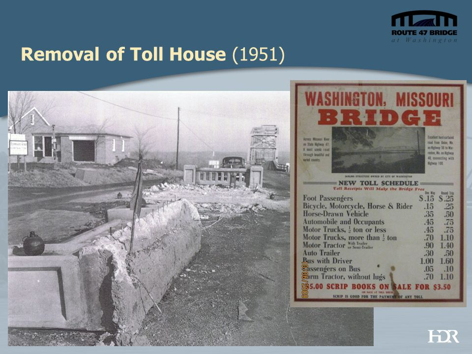 Removal of Toll House (1951)