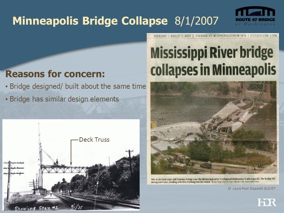 Minneapolis Bridge Collapse 8/1/2007 St.