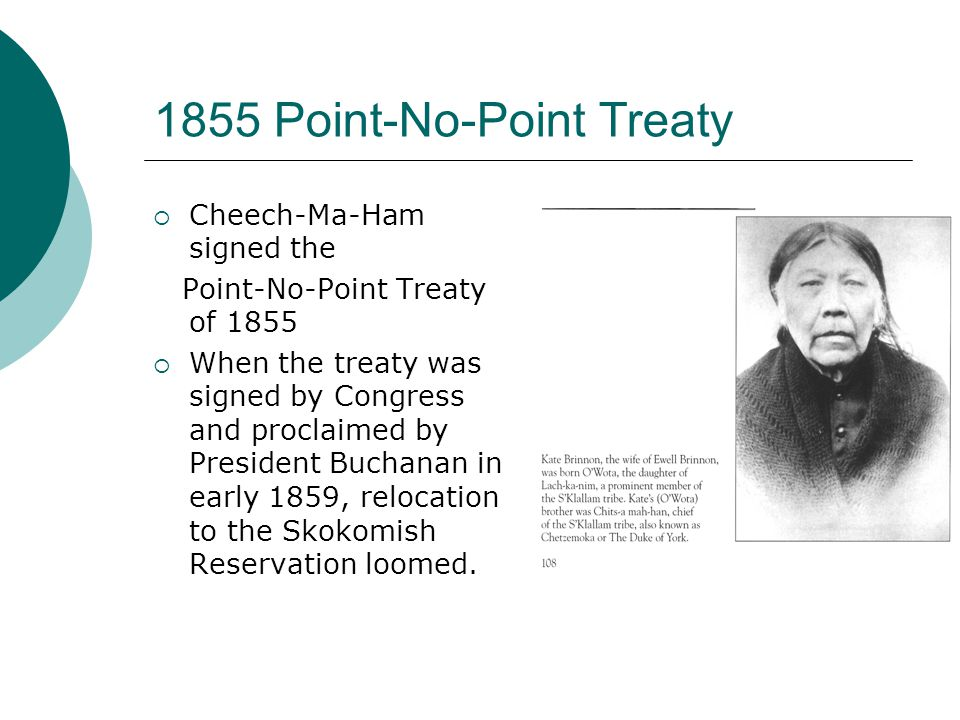 Peacekeeper  Treaty signing provoked Indian wars of 1855-56.