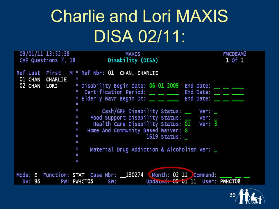 Charlie and Lori MAXIS DISA 02/11: 39