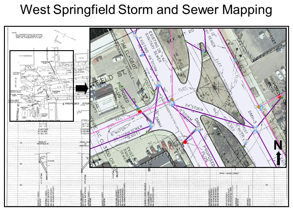 West Springfield separated many of its sewer and storm systems in the 1970s and some in the 1990s.