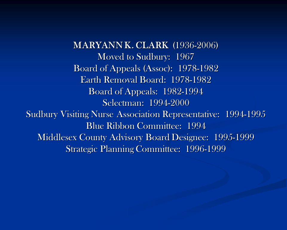 MARYANN K.