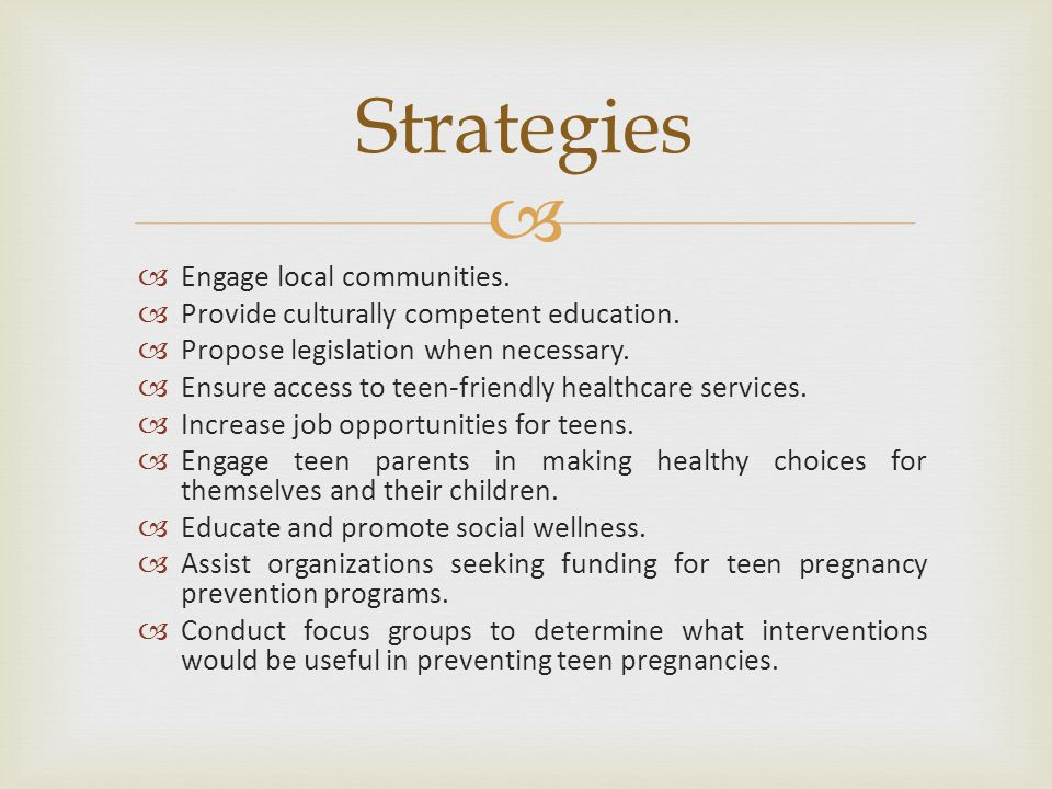   Engage local communities.  Provide culturally competent education.