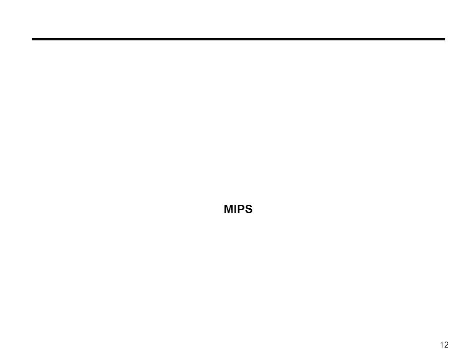 12 MIPS