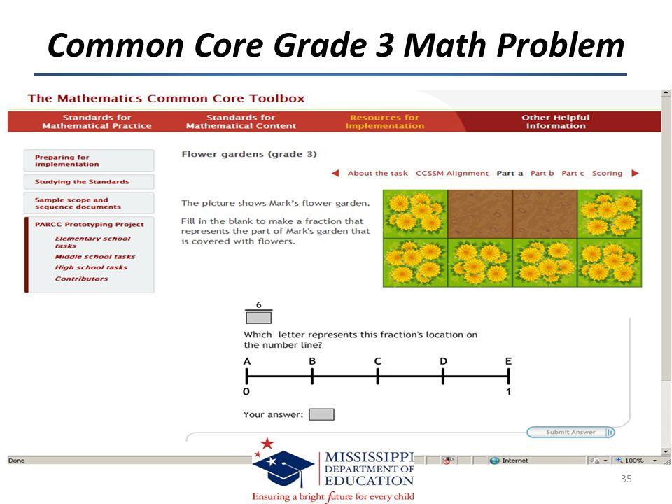 Common Core Grade 3 Math Problem 35