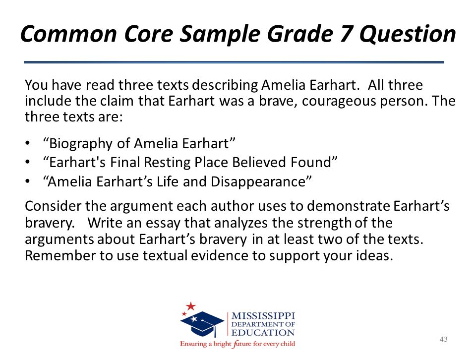 "You have read three texts describing Amelia Earhart. All three include the claim that Earhart was a brave, courageous person. The three texts are: ""Bi"