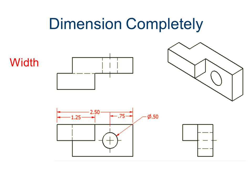 Dimension Completely Width