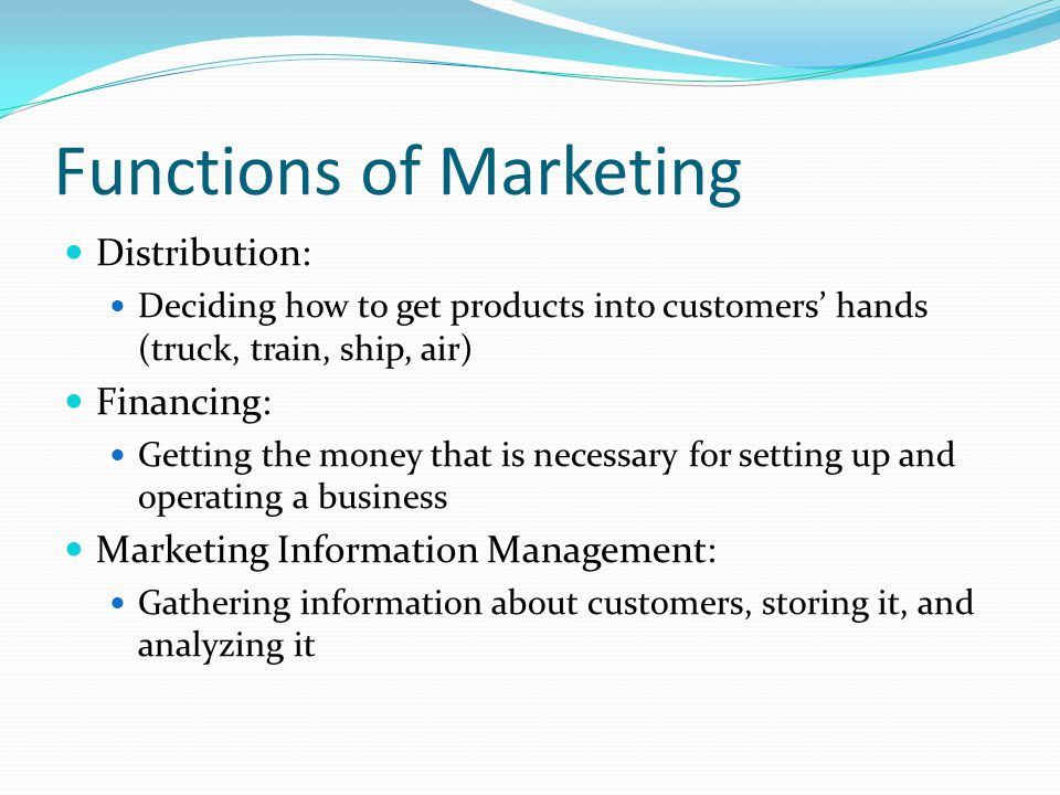 Distribution Channels—Industrial Products