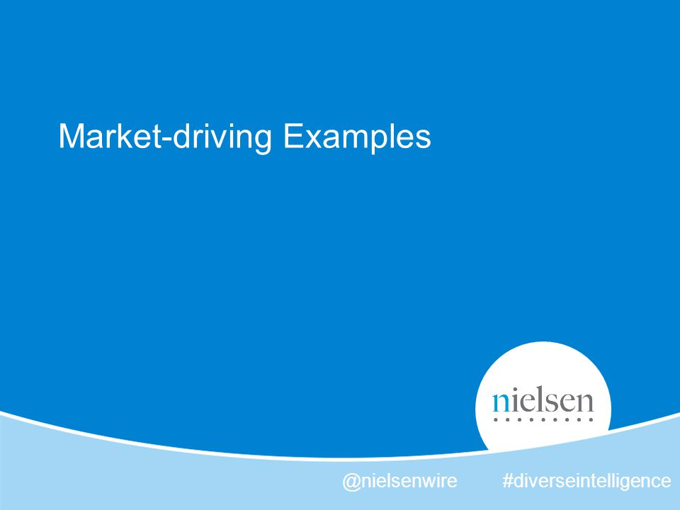 34 Copyright © 2012 The Nielsen Company.Confidential and proprietary.