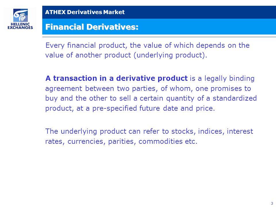34 ATHEX Derivatives Market Statistics - Various