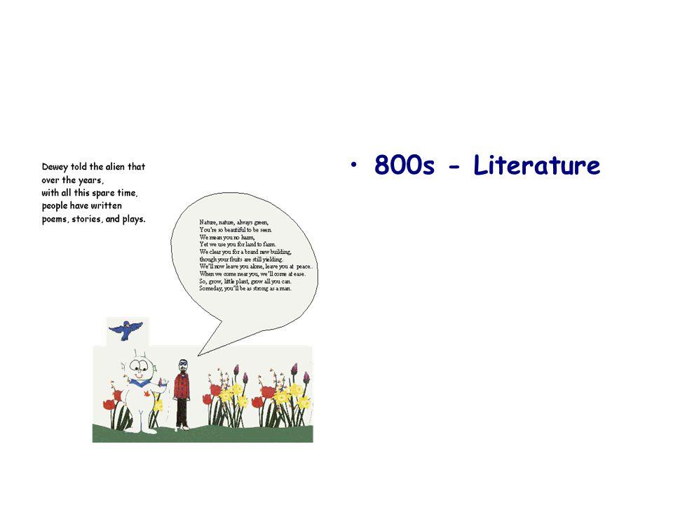800s - Literature
