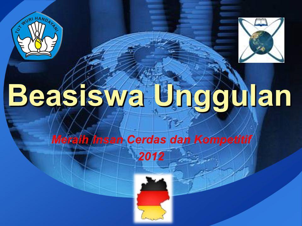 LOGO Beasiswa Unggulan Meraih Insan Cerdas dan Kompetitif 2012