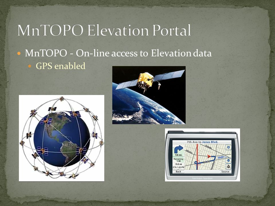 MnTOPO - On-line access to Elevation data GPS enabled