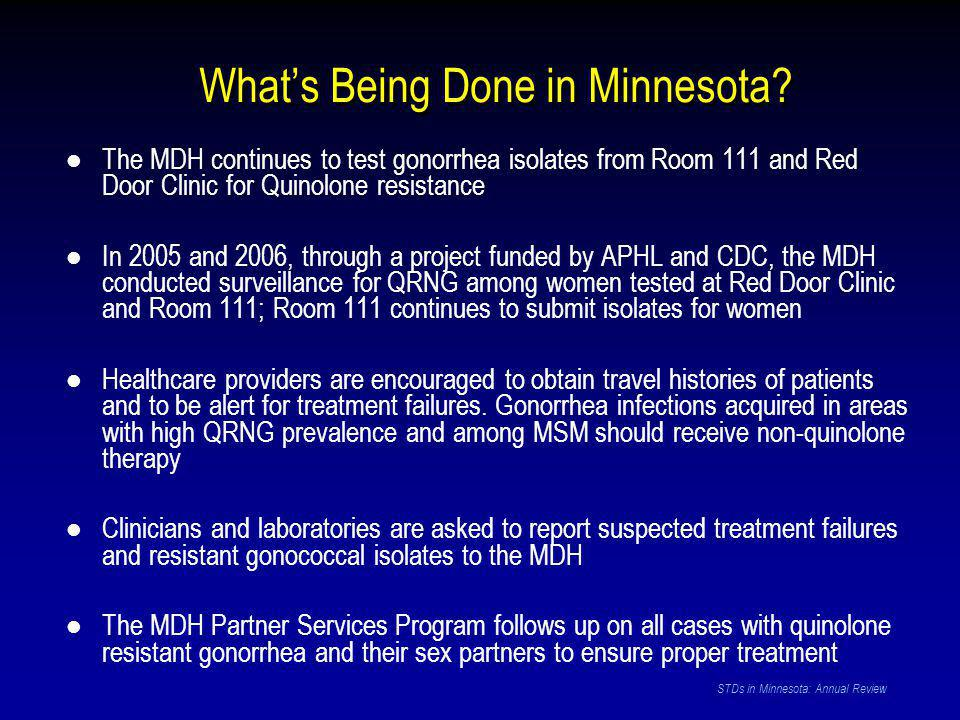 What's Being Done in Minnesota.