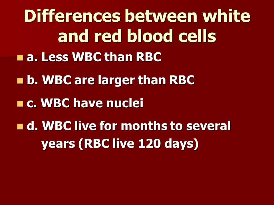 Platelets a. Pieces of cells a. Pieces of cells b. Form blood clots b. Form blood clots