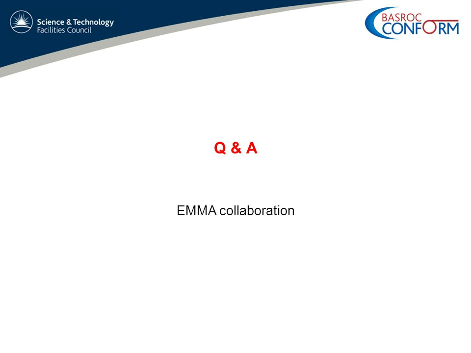 Q & A EMMA collaboration