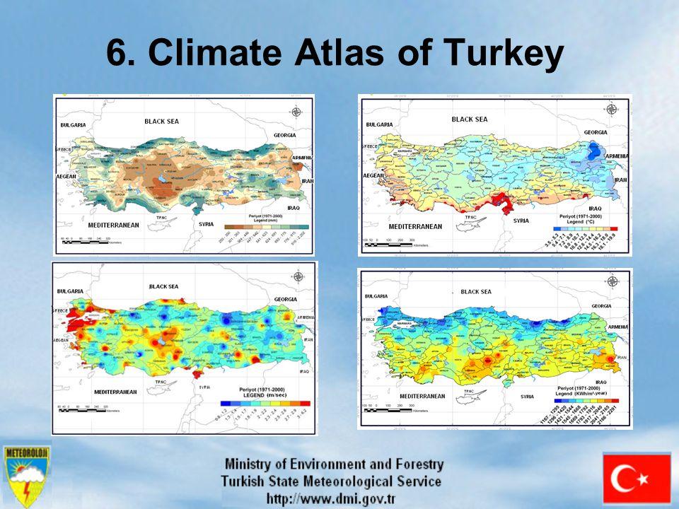6. Climate Atlas of Turkey