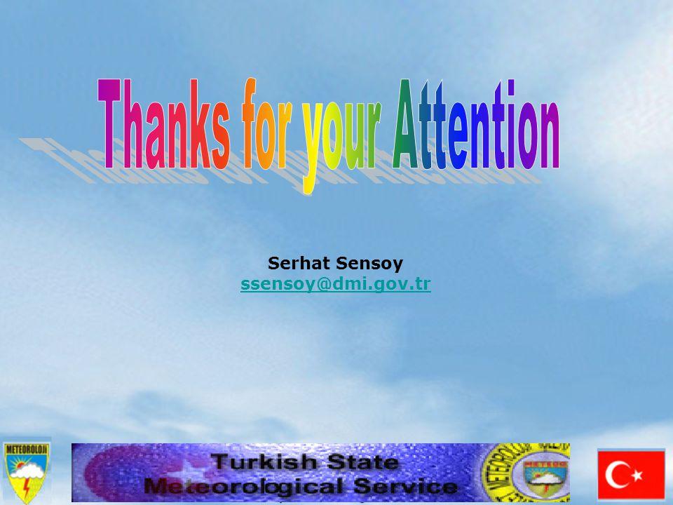 Serhat Sensoy ssensoy@dmi.gov.tr