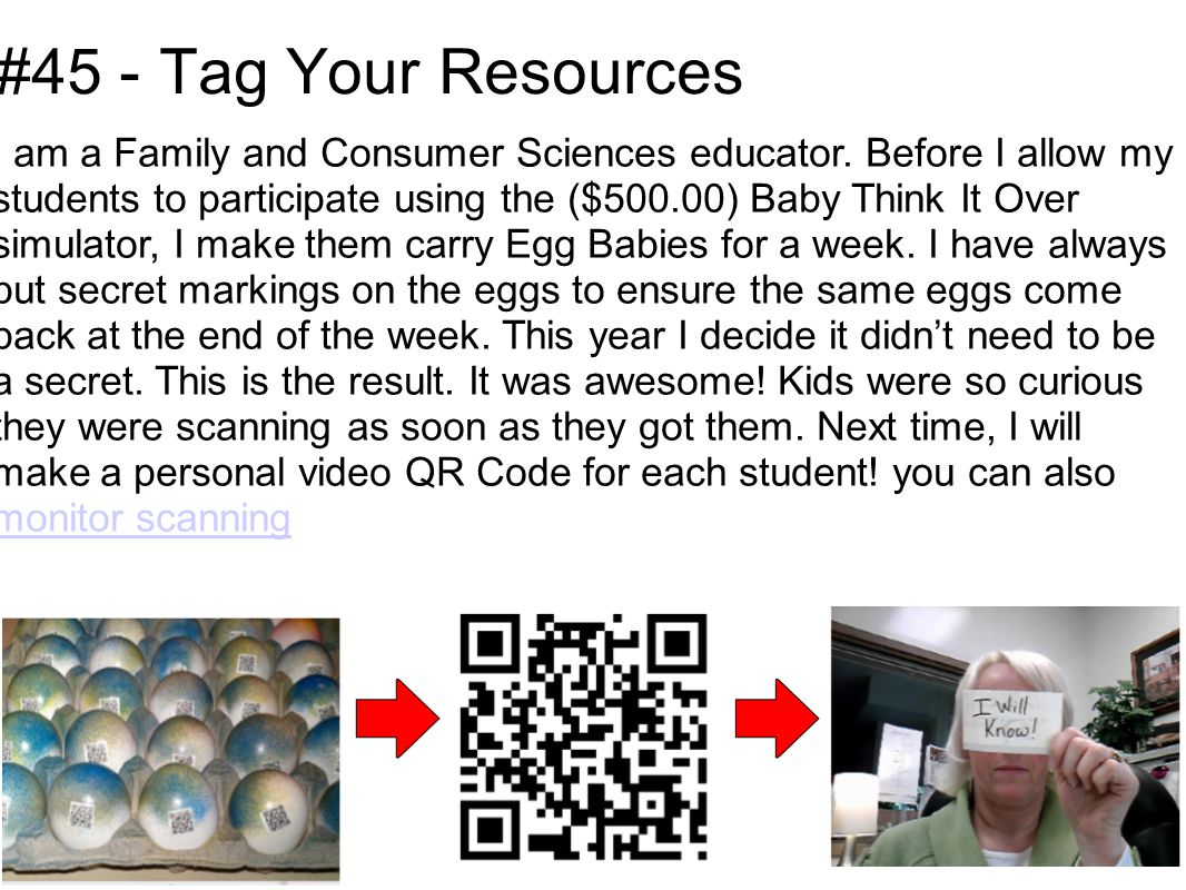 #45 - Tag Your Resources I am a Family and Consumer Sciences educator.