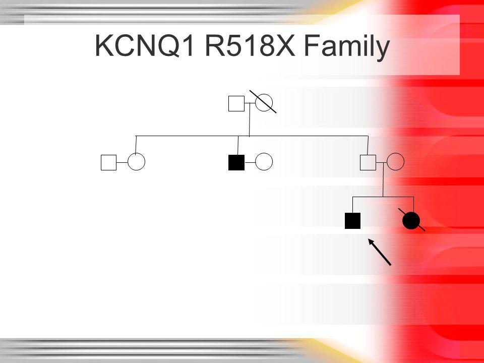 KCNQ1 R518X Family