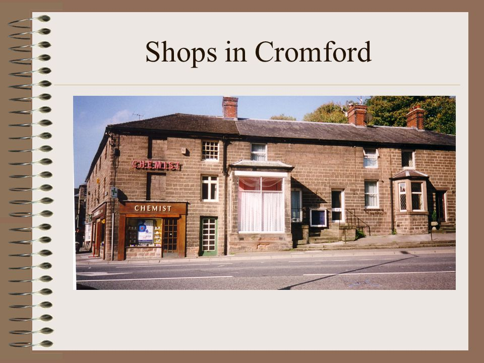 Shops in Cromford