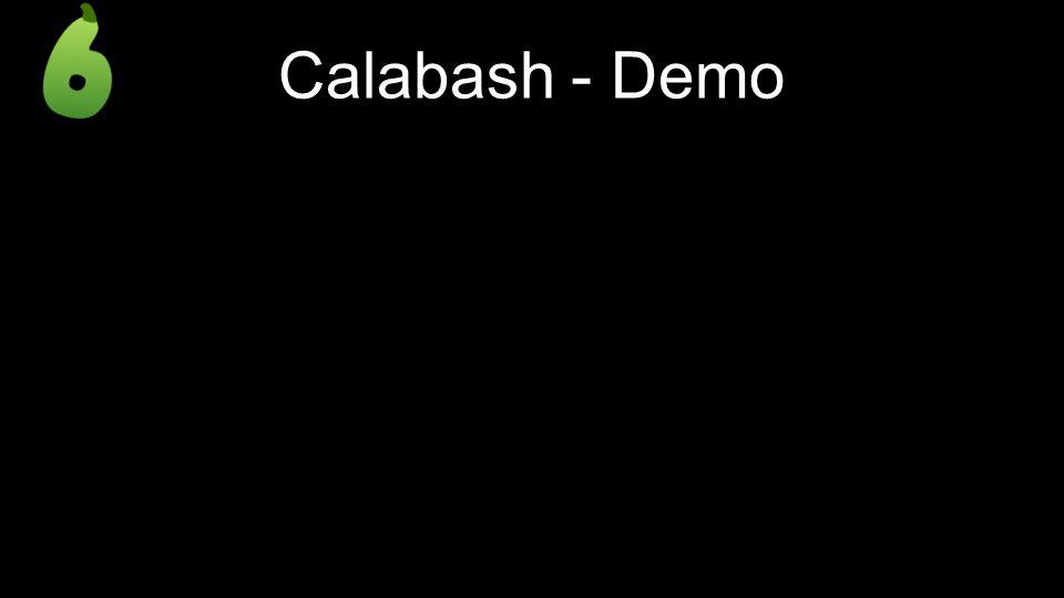 Calabash - Demo