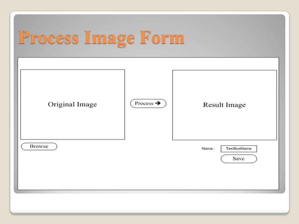 Process Image Form