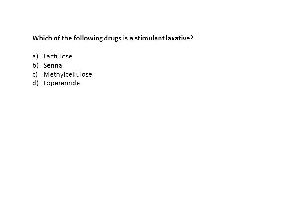 Which of the following drugs is a stimulant laxative.