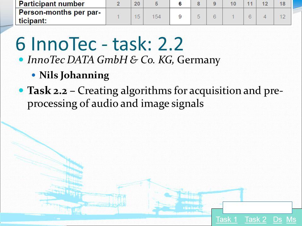 6 InnoTec - task: 2.2 InnoTec DATA GmbH & Co.