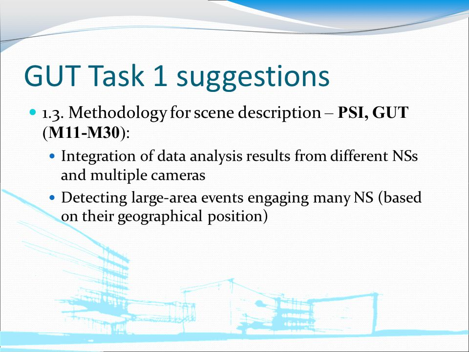GUT Task 1 suggestions 1.3.