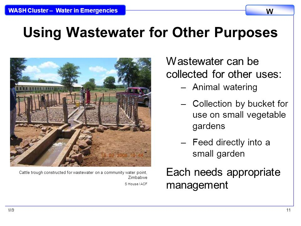 WASH Cluster – Water in Emergencies W W912 Package GS Tapstand OXFAM equipment manuals