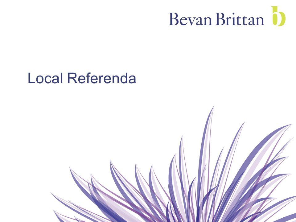 Local Referenda