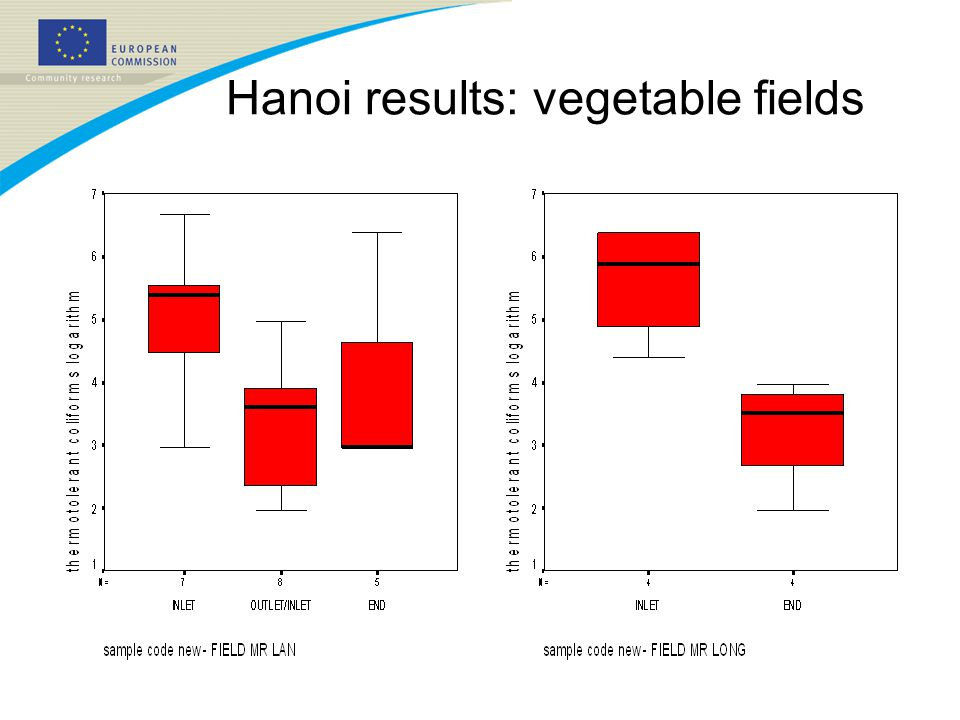 Hanoi results: vegetable fields