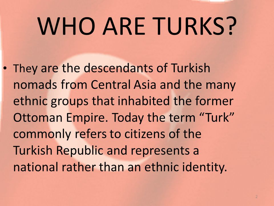 Most Turks are Muslims but the Turkish Republic is a secular state.