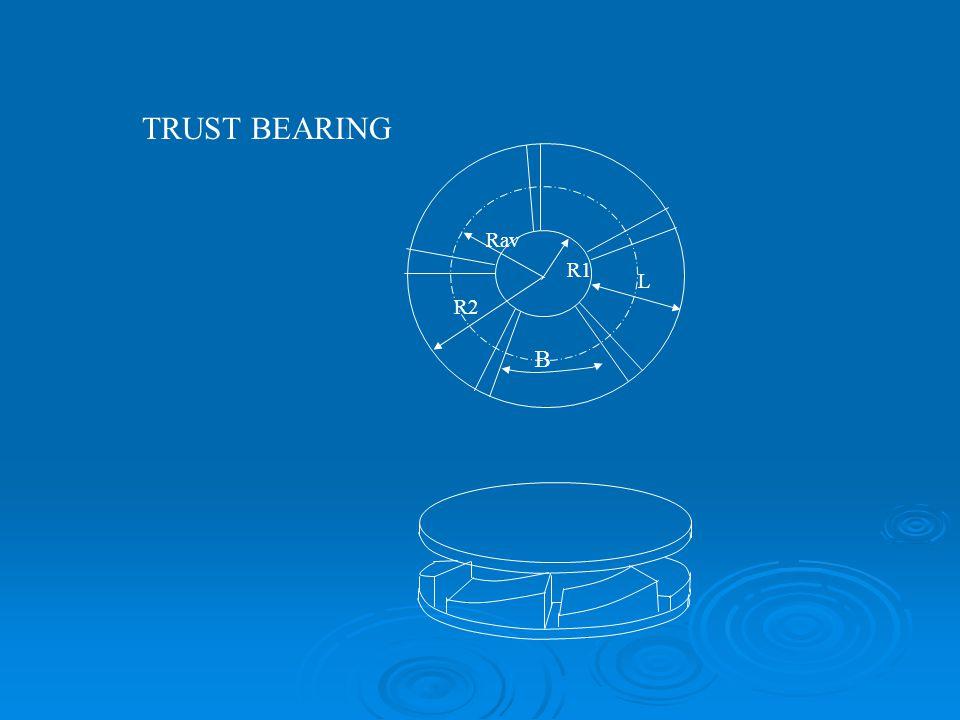 TRUST BEARING R1 R2 Rav B L