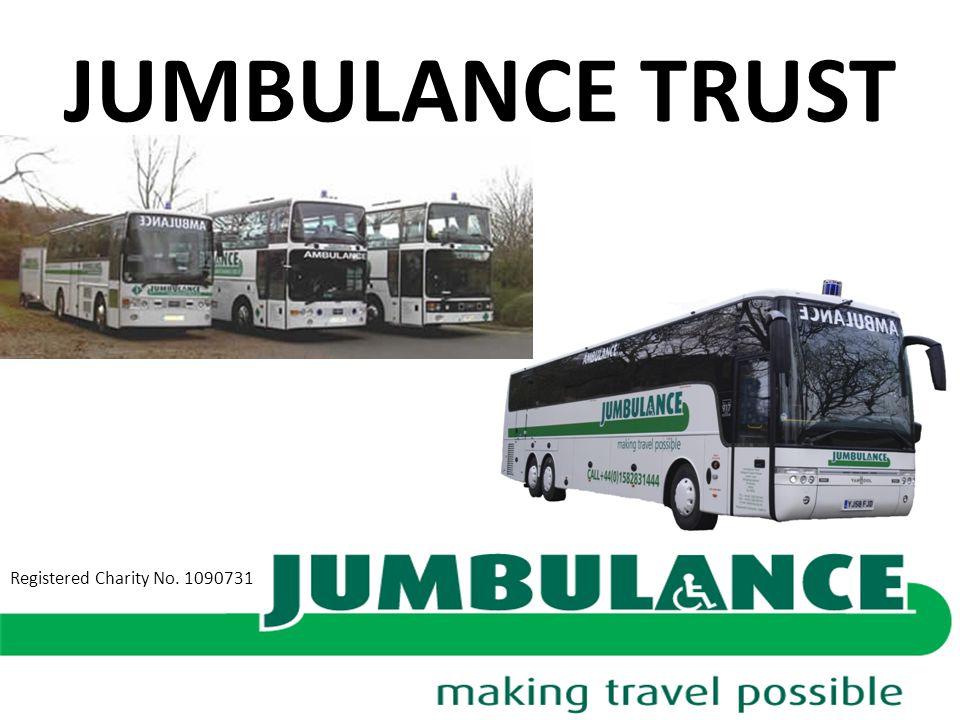 JUMBULANCE TRUST Registered Charity No. 1090731