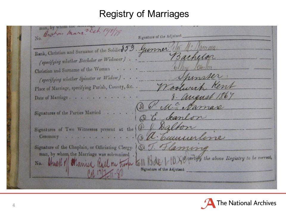 5 Registry of Baptisms