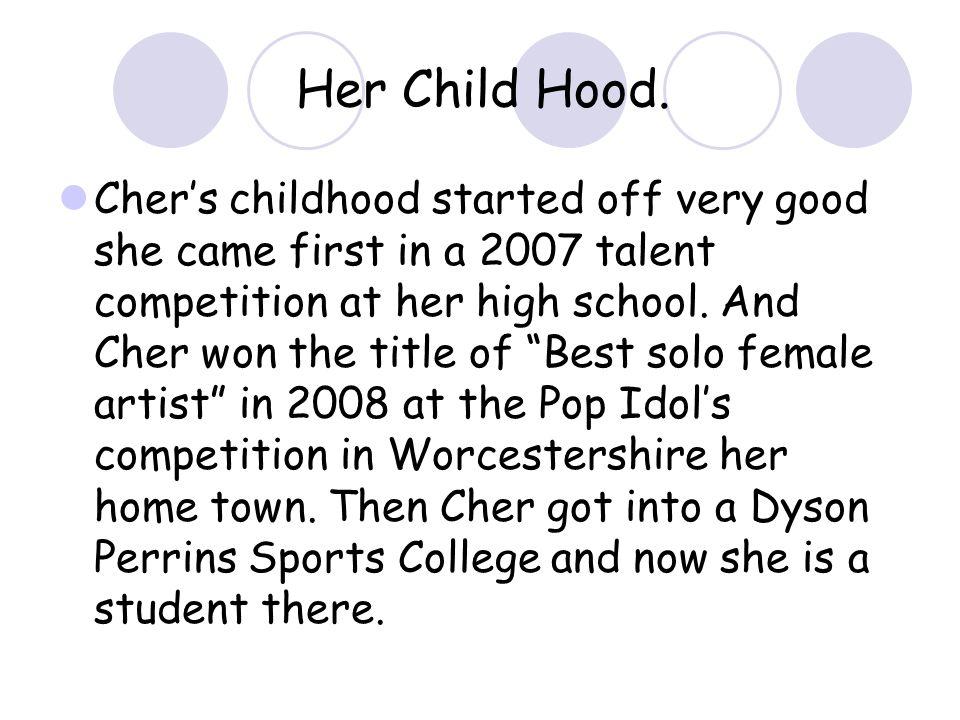 Her Child Hood.