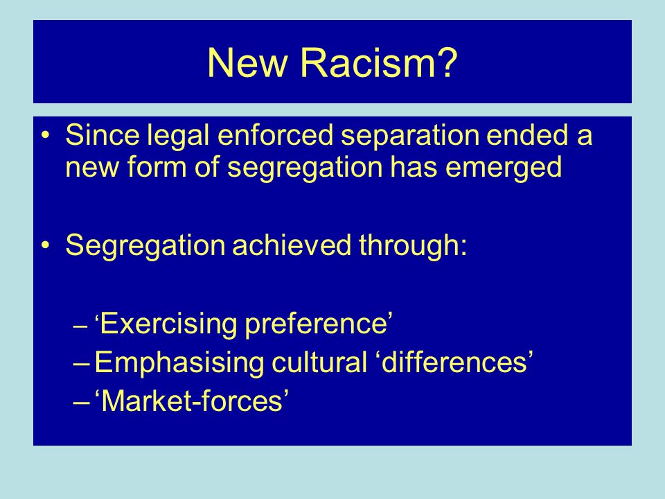 Apartheid and Post-apartheid Week 22 Ethnicity and 'Race' - ppt ...