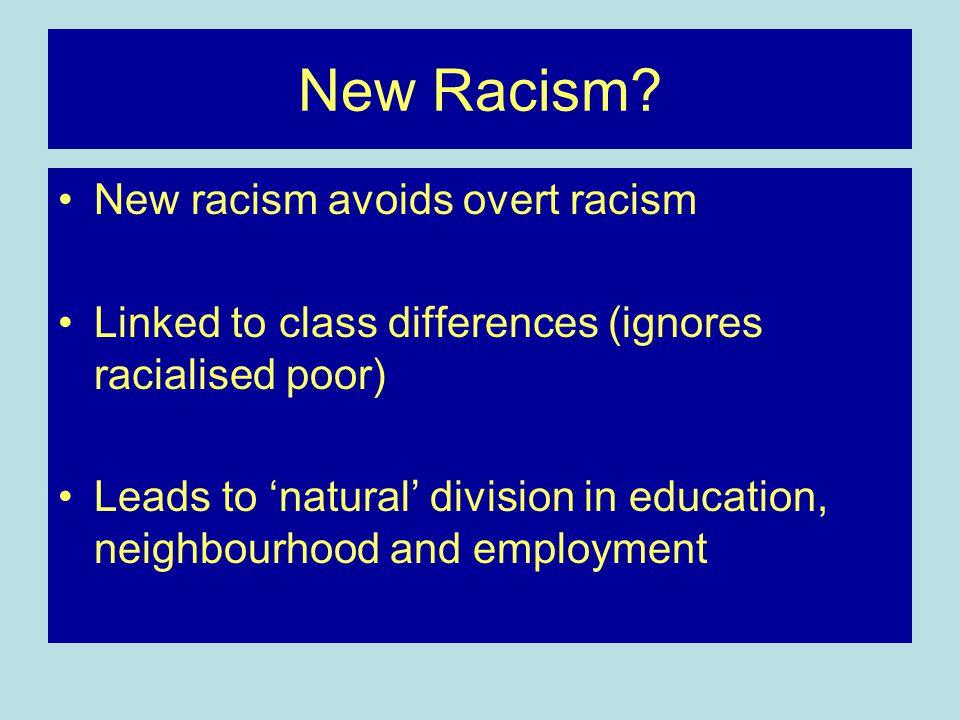 New Racism.