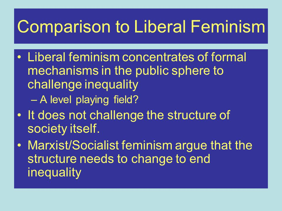 Summary Considered how feminist theory has interrelated with Marxism Outline concept of 'Reproduction' of the workforce Considered dual systems theories of capitalism and patriarchy