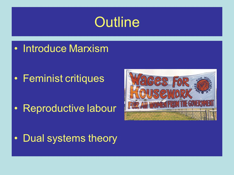 Marxist theory Capitalism is the basis for the organisation of society (economic determinism) Two main classes –Bourgeoisie Owners of the means of production –Proletariat Have no choice but to sell their labour