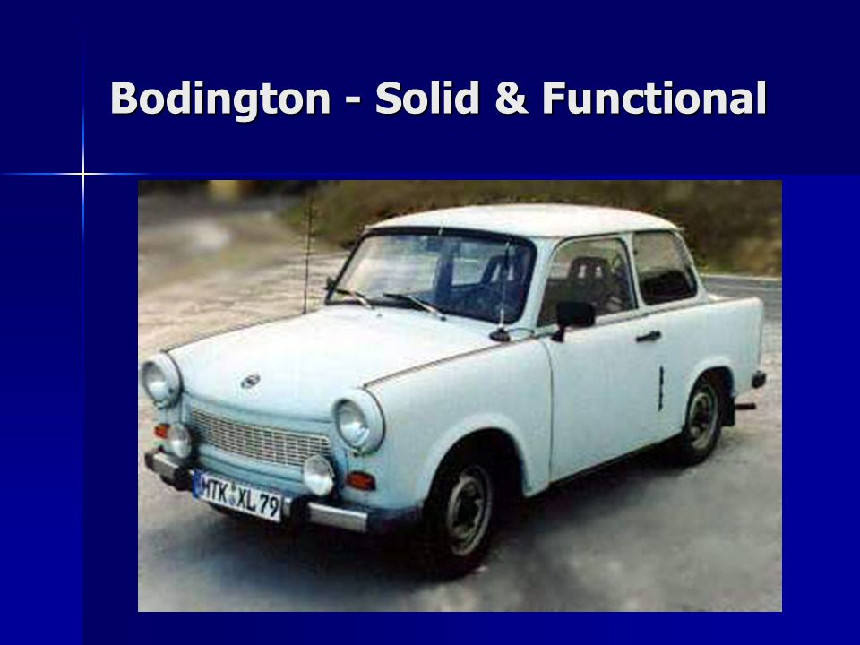 Bodington - Solid & Functional