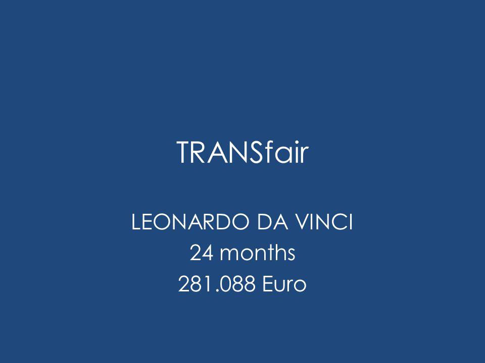 TRANSfair LEONARDO DA VINCI 24 months 281.088 Euro